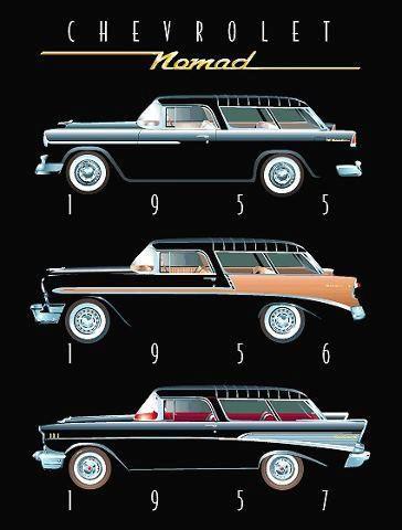 Chevrolet Nomad 55 56 57